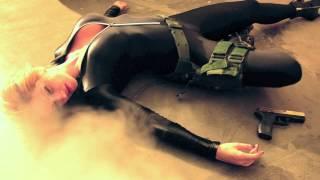 getlinkyoutube.com-Bond Girl-Diana Tyuleneva - making of scene Captured -Harley Davidson