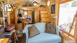 getlinkyoutube.com-Bernadette's Whimsical Gothic Tiny House