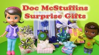 DOC MCSTUFFINS Disney Junior Doc McStuffins Birthday Surprises Toys Video