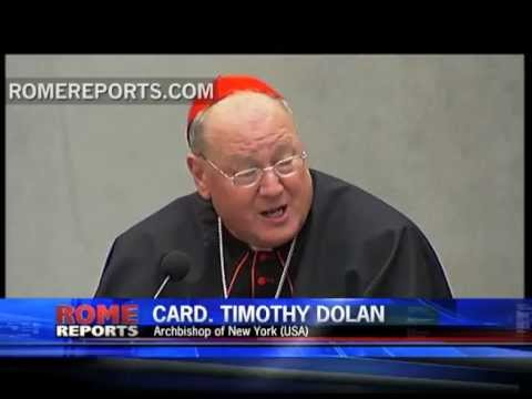 Card  Dolan talks about how to bring the New Evangelization to the U S