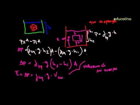 Principio de Arquímedes I - Física - Educatina