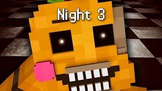 getlinkyoutube.com-MINE Nights at Freddy's 2 - FACTORY   Night 3   FNAF Minecraft Roleplay