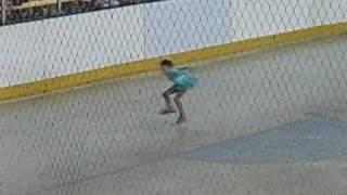 getlinkyoutube.com-Gillingham Silver Blades Ice Rink - Angel age 7