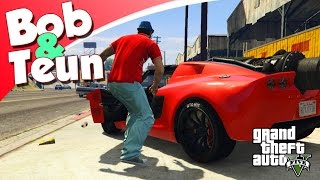getlinkyoutube.com-GTA V Online #53 - BOB EN TEUN MET DE ROCKET VOLTIC! (GTA 5 Freeroam, Roleplay)