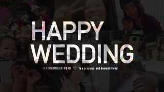 getlinkyoutube.com-結婚式 / ビデオレター (友人から新婦へ)