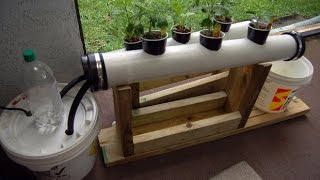 Small NFT Hydroponics System - Step By Step