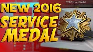 getlinkyoutube.com-CS:GO - Achieving NEW 2016 Service Medal