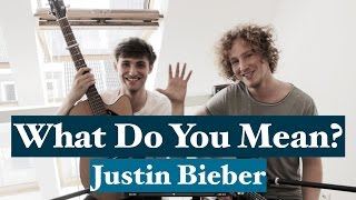 What Do You Mean - Justin Bieber | Acoustic Cover Video With Chris Brenner