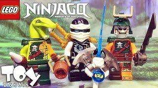 getlinkyoutube.com-레고 닌자고 쟌,더블룬,클랜시 70603 해적 비행선 미니피규어 리뷰 Lego NINJAGO Raid Zeppelin Zane,Doubloon,Clancee