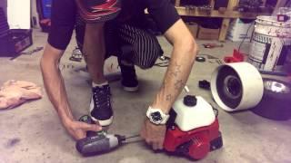 getlinkyoutube.com-MGsHow2 build a moto drift trike in 15 mins