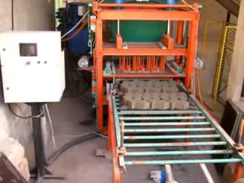 Máquina para blocos de concreto modelo MBKH/3300 - Hidráulica