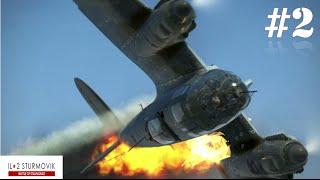 getlinkyoutube.com-IL-2 Sturmovik Battle Of Stalingrad Crashes Compilation #2 1440p 60 fps