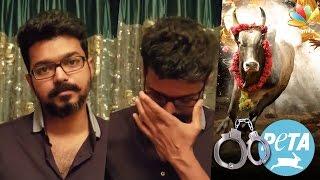 getlinkyoutube.com-Ilayathalapathy Vijay's Sarcastic Remark Against PETA | Jallikattu Ban & Protest | Speech