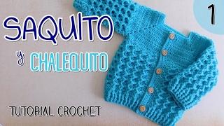 getlinkyoutube.com-Ajuar: Saquito a crochet para bebes (1/2)