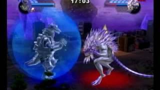 getlinkyoutube.com-Godzilla: Unleashed - Mechagodzilla vs Krystalak