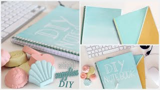 getlinkyoutube.com-DIY Back To School Supplies | Notebooks, Chalk Paint and more! #1