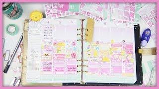 getlinkyoutube.com-Plan With Me // Pink Lemonade!