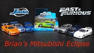 getlinkyoutube.com-The Fast and The Furious - Mitsubishi Eclipse - 1:32 Model - Jada Toys Fast & Furious Unboxing