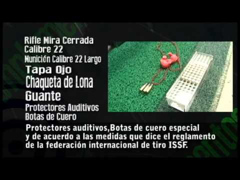 Tutorial tiro deportivo - Rifle tendido