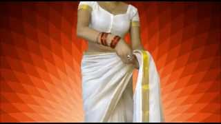 getlinkyoutube.com-Wear South Indian Saree Perfectly With Me:Sexy Sari Draping Like Brides