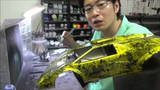 getlinkyoutube.com-エアブラシで塗装をしよう!(ラップ塗装?と、おまけ?)なべさんのプラモデル製作記