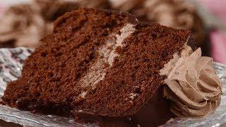 getlinkyoutube.com-Chocolate Chiffon Cake Recipe Demonstration - Joyofbaking.com