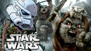 Did Ewoks Eat the Stormtroopers - Star Wars Explained