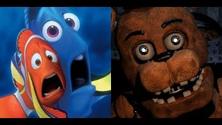 Marlin and Dory Play Five Nights at Freddy's 2