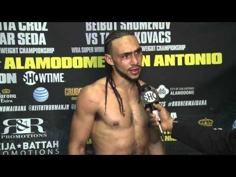 Keith Thurman - Post-Fight Interview - SHOWTIME Sports