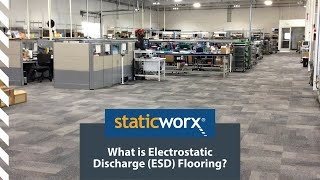 What is ESD Flooring? (Electro-Static Discharge)