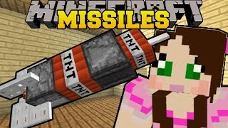 Minecraft: DEADLY MISSILES (MINING, NUCLEAR, & POISON GAS MISSILES! ) Custom Command