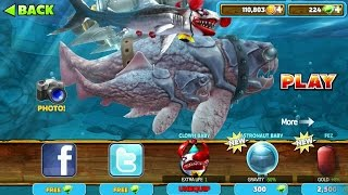 getlinkyoutube.com-Hungry Shark Evolution: BIG DADDY (DUNKLEOSTEUS) #5