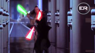 getlinkyoutube.com-Obi Wan & Qui Gon Ginn Vs Darth Maul HD 1080p
