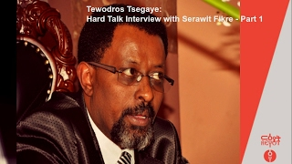 getlinkyoutube.com-Tewodros Tsegaye: Hard Talk Interview with Serawit Fikre Part 1