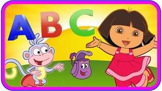 getlinkyoutube.com-ABC Song Dora the Explorer - Dora the Explorer Learn Alphabet Song for Children