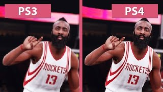 getlinkyoutube.com-NBA 2K16 – PS3 vs. PS4 Graphics Comparison [FullHD][60fps]