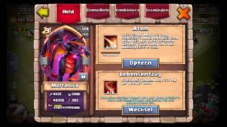 Castle Clash / Royal Clash - Account Vorstellung - #2 Redberrycrunch