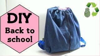 getlinkyoutube.com-94. Manualidades Como hacer una mochila (Reciclaje) Ecobrisa