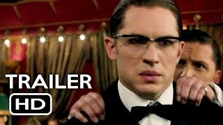 Legend Official Trailer #1 (2015) Tom Hardy, Emily Browning Crime Thriller Movie HD width=