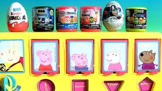 getlinkyoutube.com-Peppa Pig School Bus Pop-Up Pals Surprise Mashems & Fashems Toys Surprises Funtoyscollector