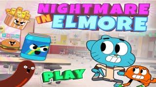 getlinkyoutube.com-Cartoon Network Games: The Amazing World of Gumball - Nightmare In Elmore [School All Levels Final]