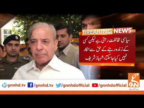 Shahbaz Sharif lashes out government