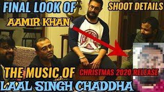 AAMIR KHAN'S LAAL SINGH CHADDHA MOVIE LOOK | MUSIC SESSION WITH PRITAM BEGINS | CHRISTMAS 2020