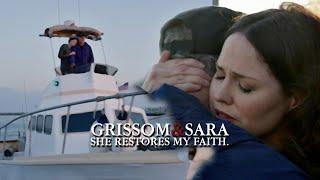 getlinkyoutube.com-CSI - Grissom & Sara - She restores my faith in the human being.