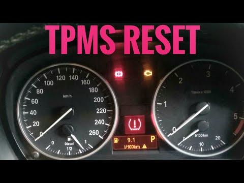 BMW X1.320.325.TPMS LIGHT RESET