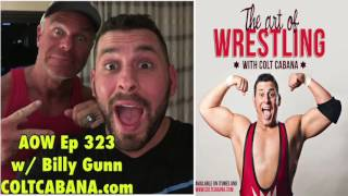 getlinkyoutube.com-Billy Gunn Ep 323 - Colt Cabana's AOW Podcast