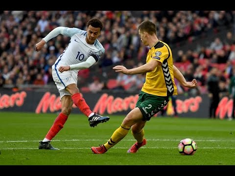 England - Lithuania 2-0 Goals and Highlights 26/03/2017