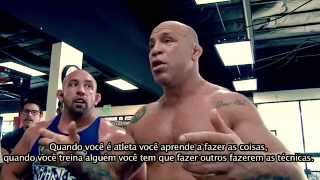 getlinkyoutube.com-Wanderlei Silva & Cael Sanderson training at Kings MMA