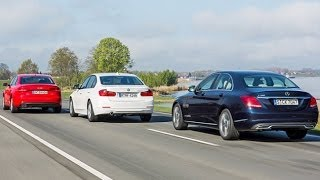 getlinkyoutube.com-Mercedes C-Klasse vs. BMW 3er vs. Audi A4