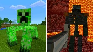 getlinkyoutube.com-New Mutant Mobs in Minecraft Pocket Edition (Mutant Creatures Addon)
